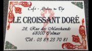 Carte de Visite Le Croissant Doré