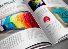 Imprimez vos catalogues publicitaires avec L'Air du Temps.