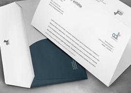 Enveloppes et papier en tête personnalisé, la valorisation de l'image de votre entreprise